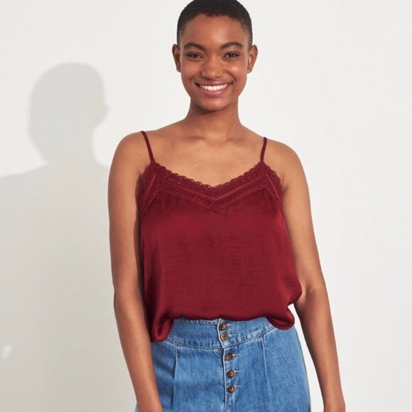 Hollister Red Tank Top | size M